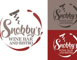 #62 untuk Design a Logo for Snobby's Wine Bar and Bistro oleh vladspataroiu
