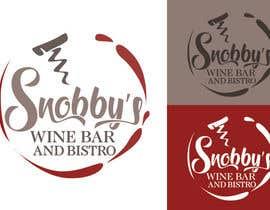 Nro 62 kilpailuun Design a Logo for Snobby's Wine Bar and Bistro käyttäjältä vladspataroiu