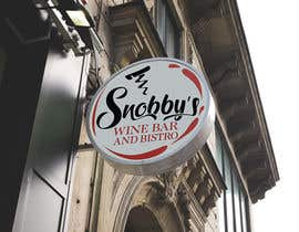 #97 untuk Design a Logo for Snobby's Wine Bar and Bistro oleh vladspataroiu