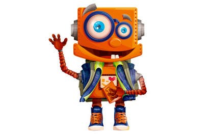 #8 for Ilustrar un robot amable af bouchtiba23