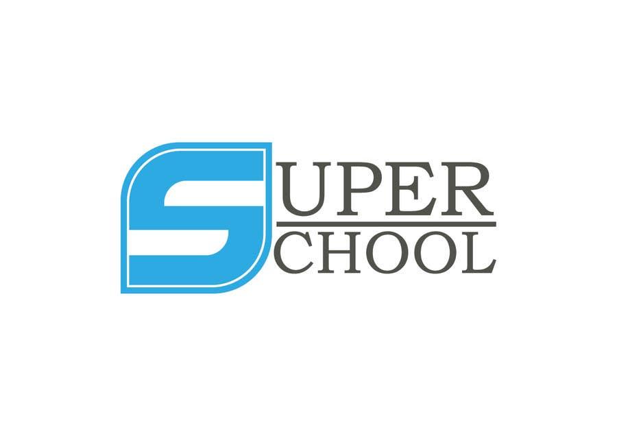 Kilpailutyö #40 kilpailussa Design a Logo for superschool