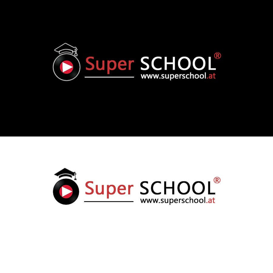Kilpailutyö #72 kilpailussa Design a Logo for superschool
