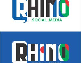 #43 for Design a Logo for - Rhino Social Media by mishrapeekay