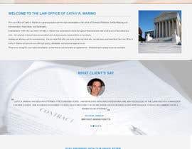 muhammadshoban tarafından Design a Website Mockup for http://www.marinolaw.org için no 14