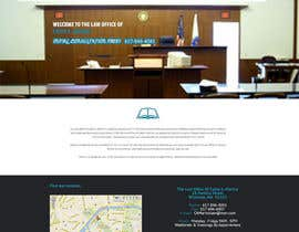 #1 untuk Design a Website Mockup for http://www.marinolaw.org oleh AceShapes