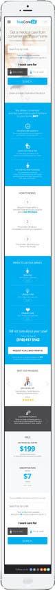 Ảnh thumbnail bài tham dự cuộc thi #83 cho Design an App Mockup (The landing page only)