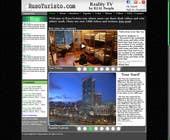 Graphic Design Inscrição do Concurso Nº4 para Design a Website Mockup for RusoTuristo.com