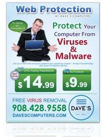 #62 cho Design a Flyer for Virus Protection Service bởi gmorya