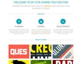 Nro 4 kilpailuun Design a Landing Page that Converts käyttäjältä sbshanto