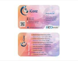 #27 para Design some Business Cards for iConz Pte Ltd por saliyachaminda