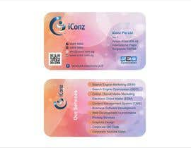 #28 para Design some Business Cards for iConz Pte Ltd por saliyachaminda
