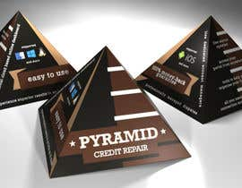 #3 for Create Print and Packaging Design for Pyramid Shaped Box - [Software Packaging] by peshan