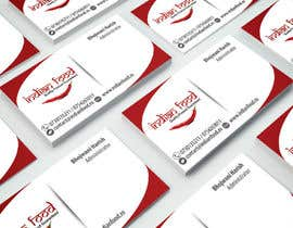 #9 for Design some Business Cards for www.indianfood.ro by binoysnk