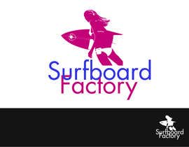nº 79 pour Design a Logo for Surfboard factory par KennyMcCorrnic
