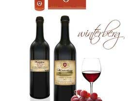 #28 para Create a label design for white, rose and red wine por starfz