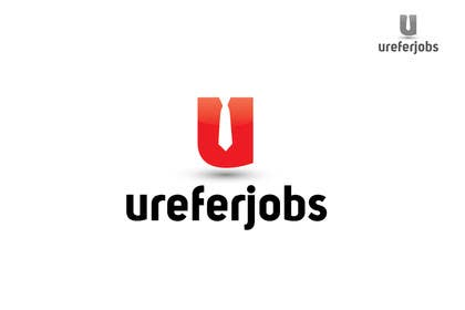 #9 untuk Logo design for ureferjobs.com. Help me. FLY CLOSER TO THE SUN. oleh iffikhan