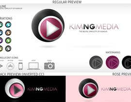 #5 untuk Develop a Corporate Identity for entertainning media channel oleh arvsmedia