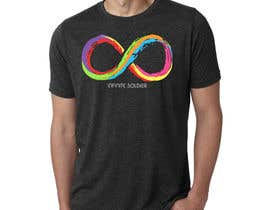 #21 untuk Design a T-Shirt for Colorful Infinity Sign oleh drfranzy
