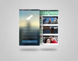 ang12123 tarafından Design an App Mockup for a social network application için no 1