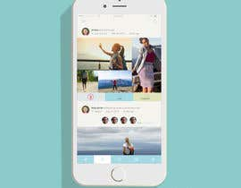 king5isher tarafından Design an App Mockup for a social network application için no 9