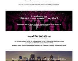 Nro 6 kilpailuun Design a 1 page website with movie theme in Wordpress käyttäjältä shanklq