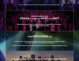 Nro 7 kilpailuun Design a 1 page website with movie theme in Wordpress käyttäjältä shanklq