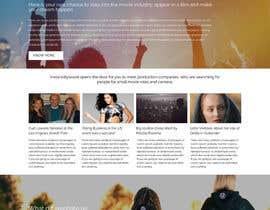 Nro 3 kilpailuun Design a 1 page website with movie theme in Wordpress käyttäjältä webidea12