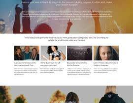Nro 11 kilpailuun Design a 1 page website with movie theme in Wordpress käyttäjältä webidea12