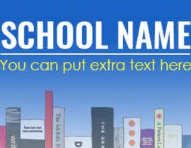 #10 for Design a Banner to be used for fundraising ideas for elementary schools af MSalmanSun