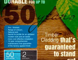 #13 para Design an Advertisement for Timber Cladding por Nika82