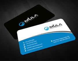 #20 para Design some Business Cards for MULA por logosuit