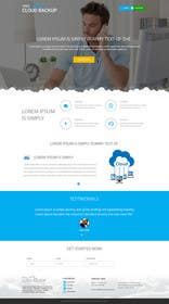 #6 cho Design a Website Mockup for a single page website bởi ankisethiya