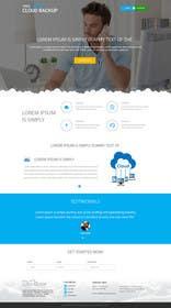 Nro 6 kilpailuun Design a Website Mockup for a single page website käyttäjältä ankisethiya