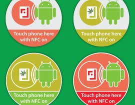 #4 cho Design a sticker with the android robot and my logo bởi mWaqasShah