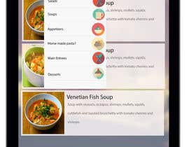 #5 for Design an App Mockup for iPad Restaurant Menu af sharma02gaurav