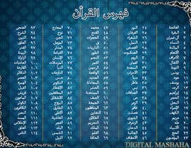 Nro 7 kilpailuun Quran Index käyttäjältä engrsiraj