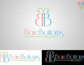 "#20 untuk Design a Logo for organic baby company ""Bare Bottoms Organics"". oleh Attebasile"