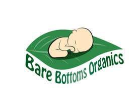 """#29 para Design a Logo for organic baby company """"Bare Bottoms Organics"""". por andreealorena89"""