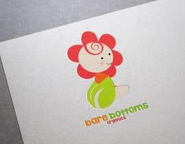 "#26 untuk Design a Logo for organic baby company ""Bare Bottoms Organics"". oleh shantallrueda"