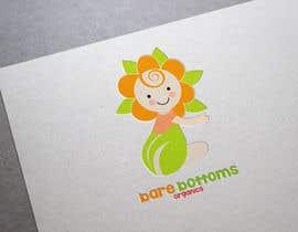 "#27 untuk Design a Logo for organic baby company ""Bare Bottoms Organics"". oleh shantallrueda"