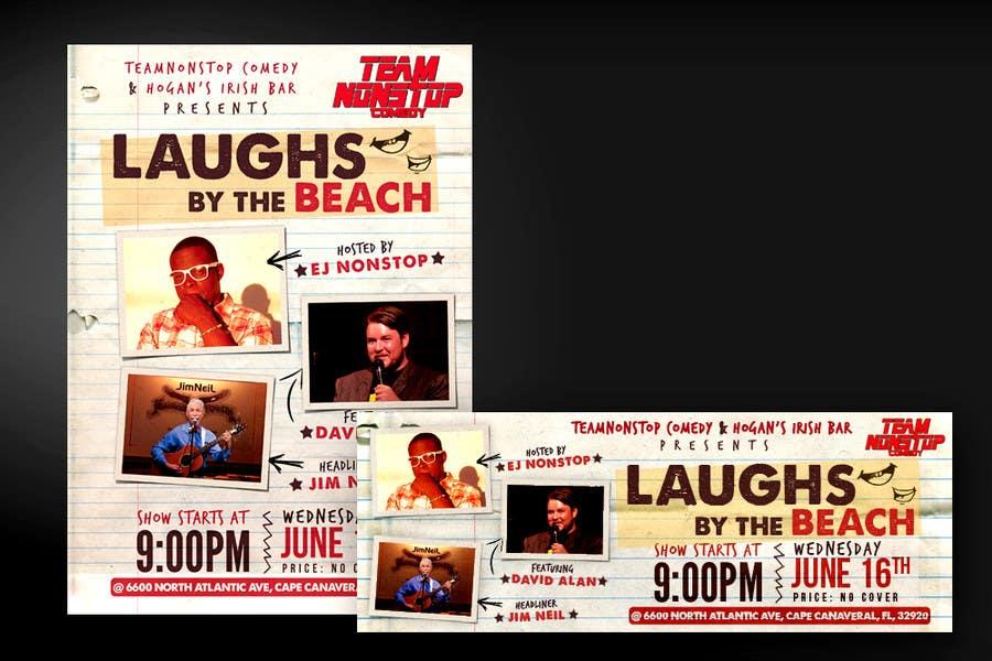 Inscrição nº 16 do Concurso para Design a Poster for A Comedy Night Event