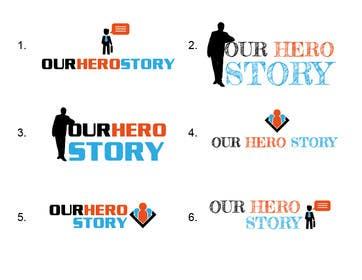 #19 cho Design a Logo for OurHeroStory.com bởi eliascurtis