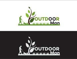 Khandesigner2007 tarafından Design a Logo for Outdoor Man Property Maintenance için no 74