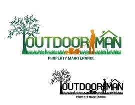 romerlorenzo tarafından Design a Logo for Outdoor Man Property Maintenance için no 76
