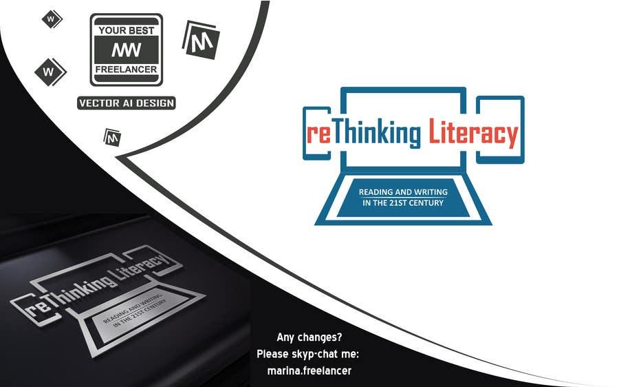 Penyertaan Peraduan #19 untuk Design a Logo for reThinking Literacy Conference