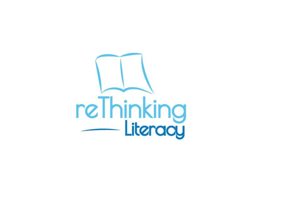 Penyertaan Peraduan #60 untuk Design a Logo for reThinking Literacy Conference