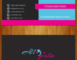 #30 for Design some Business Cards for my Hair Extension Brand af anisurrahman2014