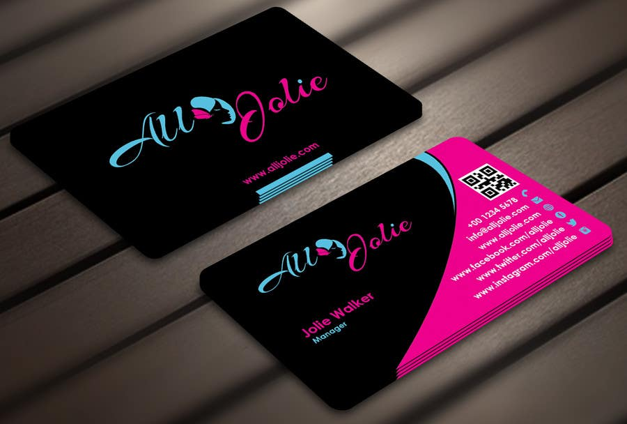 Entry #21 by Derard for Design some Business Cards for my Hair ...