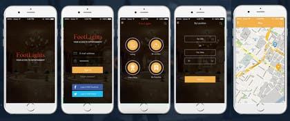 ankisethiya tarafından Design an App Mockup for Theatre Search için no 11