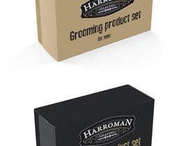 #16 untuk Gift box design for men's grooming product set. oleh Decomex